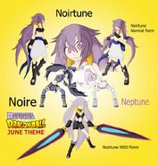 Noire and Neptune Fusion Noirtune