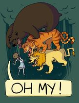 Triggershock lions-and-tigers-and-bears