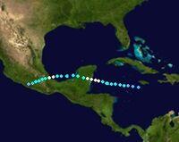Hurricane Dorian (2019 - Track)