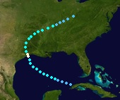 Hurricane Fay (2020 - Track)