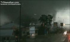 Birmingham, England F4 tornado approaches city centre