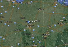 May 2016 Indiana Earthquake Epicenter Location