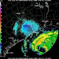 Hurricane Claudette (2003) - Radar