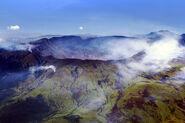 Caldera Mt Tambora Sumbawa Indonesia
