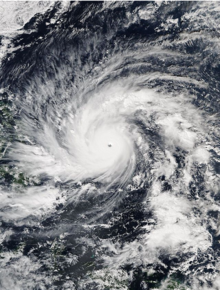 Super Typhoon Hagupit (Ruby) 2014 Cat5