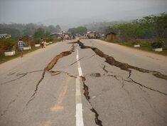 Earthquake-road-damage