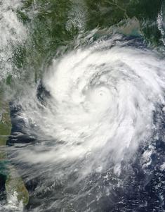 Cyclone Phailin 11 October 2013