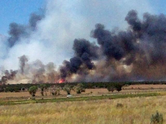 File:Wildfire near Cedar Fort, Utah.jpg