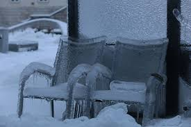 File:Snow covered Bench.jpg