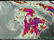 West Coast Winter Storm - IR