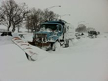 File:Stuck Salt Truck on Lake Shore drive Chicago Feb 2 2011 storm.jpg