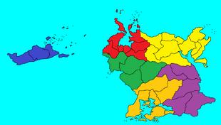 Regions of Lovrodhea