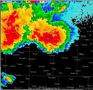 Supercell Radar Image