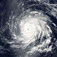 Hurricane Igor at 1640z on September 13, 2010