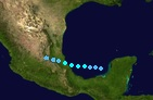Tropical Storm Paula (2016 - Track)