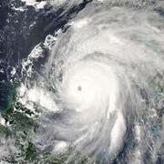 Hurricane Ivan Peak 2004