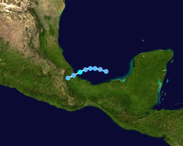 File:Tropical Storm Claudette Track 2021 (CS).png