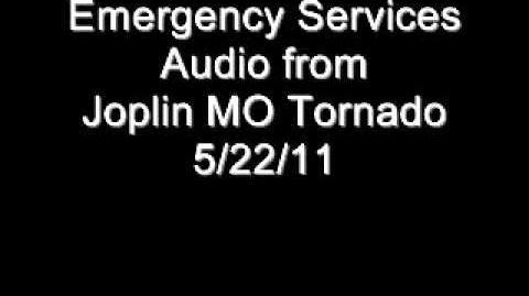 Joplin MO Emergency Services Audio from Tornado on 5 22 11