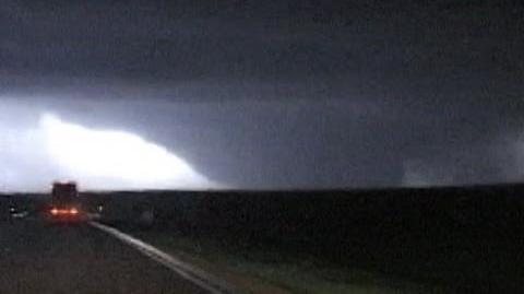 EF5 tornado in Greensburg, Kansas - May 4, 2007