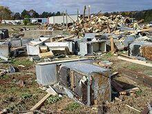 Morrilton Arkansas Tornado Damage