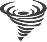 Counterclockwise vortex