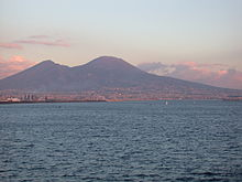 File:Vesuvius from Naples at sunset.jpg
