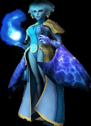 Sapphire warden
