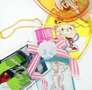 Perfume Acrylic Keychain