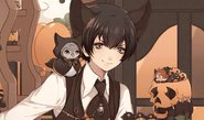 (Halloween Scout) Eva Armstrong Affection Story LE 1