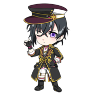 (2nd Anniversary Scout) Kuro Yakaku SD Kiss