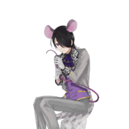 (Animal Teahouse Scout) Akio Tobikura GR Transparent