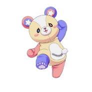 Naked EXP Kuma Transparent
