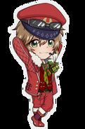 (X'mas 2016 Scout) Futami Akabane SD Pose