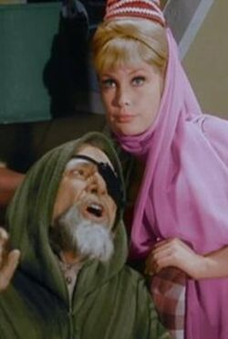 I Dream Of Jeannie episode 1x10 - Djinn and Water - Jeannie's Great Grandpa
