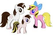 Ian and Stefanie Pony Family