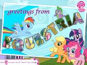 Mlpfim-wallpaper-greetings-from-equestria 1600x1200