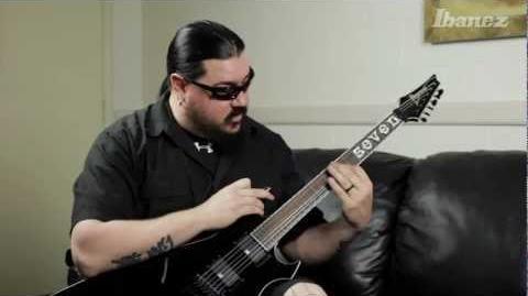 Mick Thomson of Slipknot discusses his Ibanez MTM100 10 signature models
