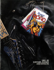 1991-92 USA catalog front-cover
