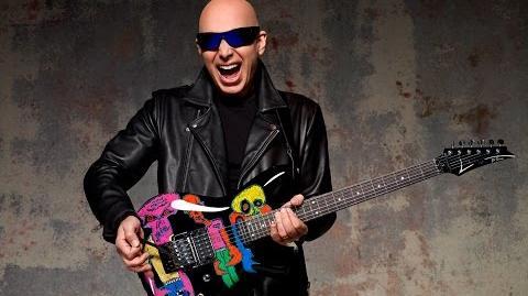 Joe Satriani talks about his Ibanez JS25ART Limited Edition Guitars
