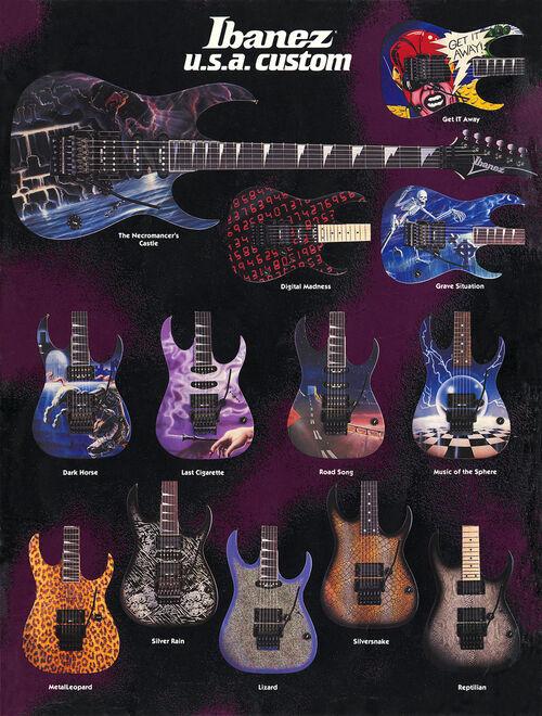 1989 USA Custom flyer