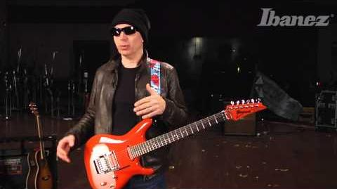 Joe Satriani discusses the features and inspiration behind his new Ibanez JS2410 Signature model