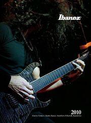 2010 USA elec guitar catalog front-cover