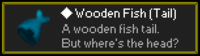 Wooden Fish Tail