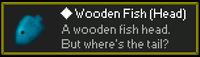 Wooden Fish Head