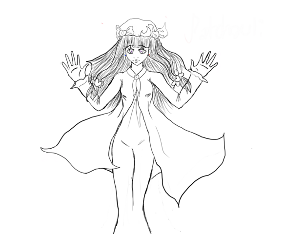 File:Patchouli lineart by hihi sama-d378uc3.png