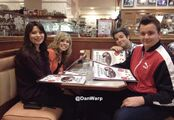 Icarly crew at danwarp