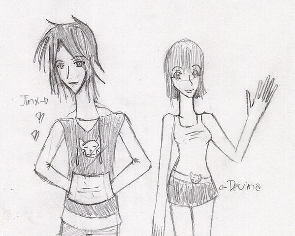 File:Jinx and Devina Humanized by Hihi Sama.jpg