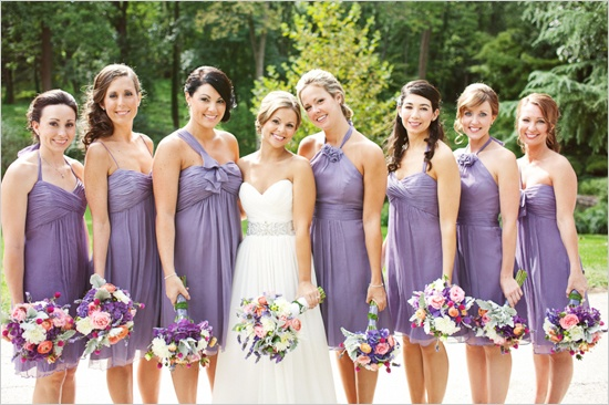 File:WeddingDress&BridesmaidsDressesForMyWeddingWithTheCake.jpg