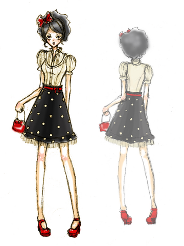 File:Fashion Sketch Dots by Nancy Fayne.png