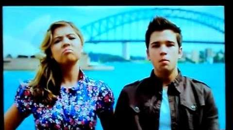 Jennette and Nathan 'Best Frenemies' - iKiss